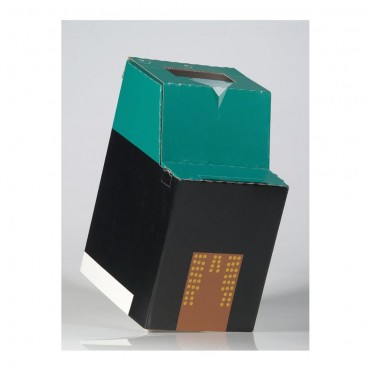 Paper bin for recycling of inks